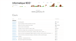 Preview of jackary.ch